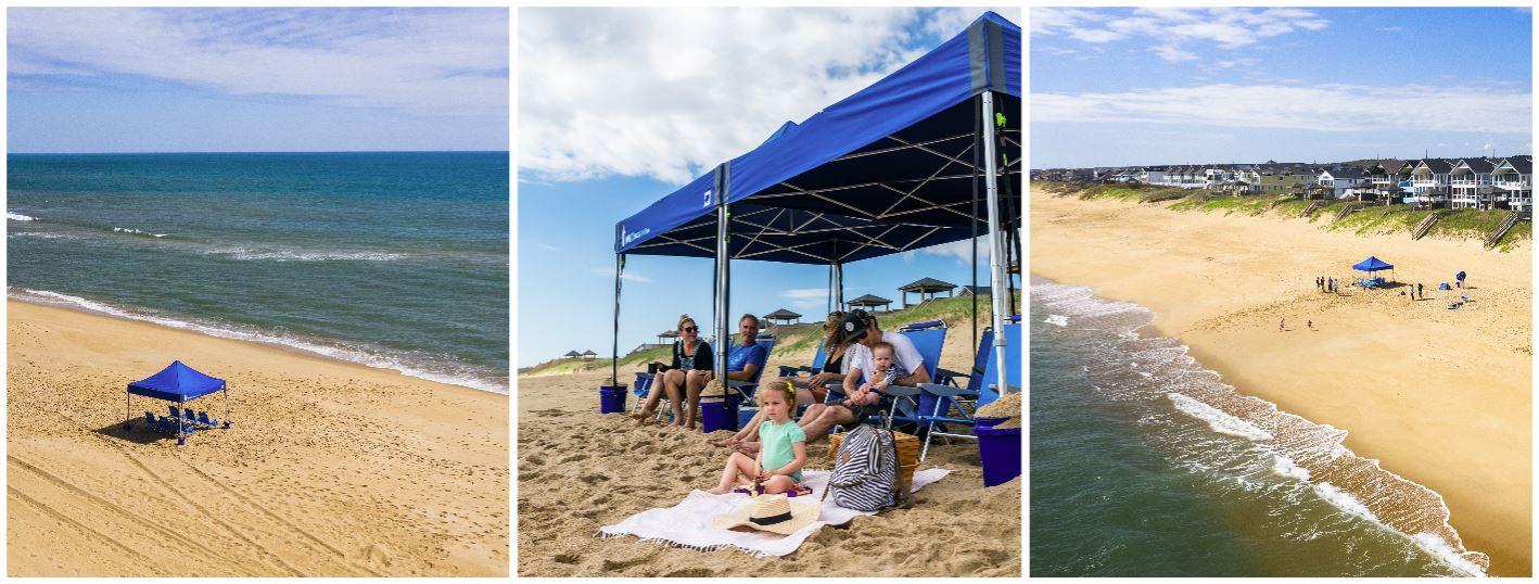 Cabana Tent Set Up
