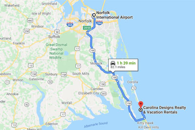 Getting To The Outer Banks | Carolina Designs