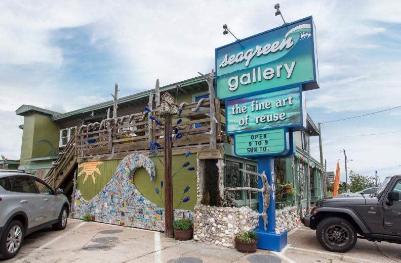 Sea Green Gallery